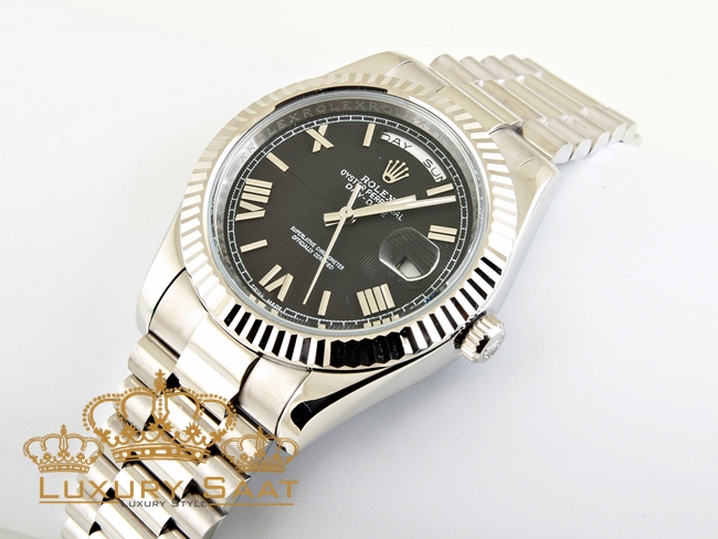 Rolex Oyster Perpetual Day Date Siyah Kadran