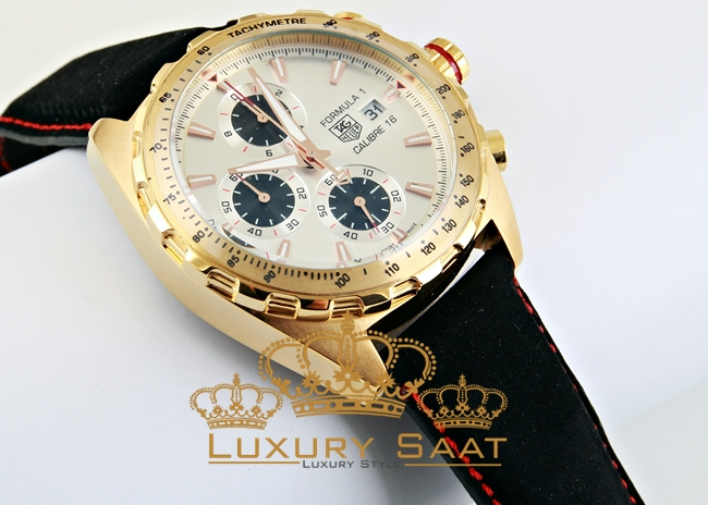 Tag Heuer Calibre 16 Chronometer Gold
